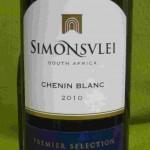 2010 simonsvlei chenin blanc